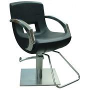 Парикмахерское кресло Alva, черное