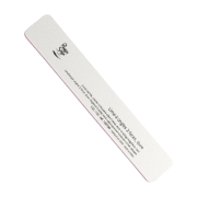 Peggy Sage 2-way rectangular nail file 100/100, white