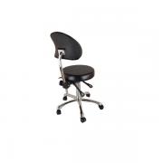 Кресло мастера Silver Fox 1025B, черный.