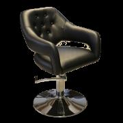 Парикмахерское кресло Anna, черный