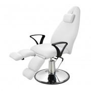 Гидравлическое педикюрное кресло Silver Fox 2231A, белый