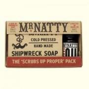 Mr.Natty мыло+масло для бритья