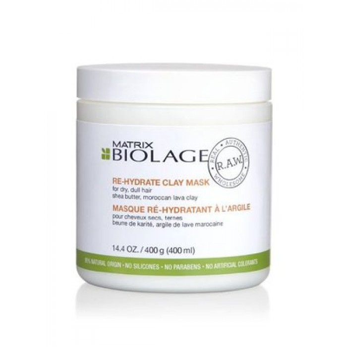 Biolage Raw Re-Hydrate Clay Mask 400g