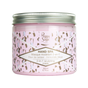 Peggy Sage Hand Spa 2-in-1 sculpting mask - Cherry Blossom and sea lavender 200ml